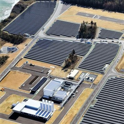 Fukushima Hydrogen Energy Research Field, the world's largest hydrogen plant and green-energy center
