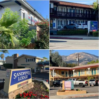 Walking on Upper State Street: Photos of some motels & lodges