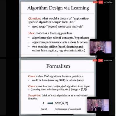 A few slides from Tim Roughgarden's talk: Set 2