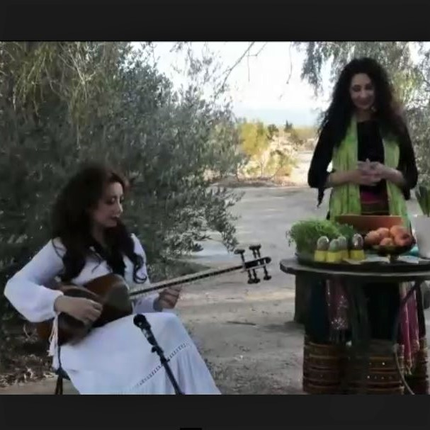 Screenshot from University of Toronto's Nowruz celebration