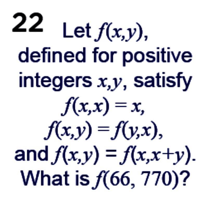 Math puzzles: Taken from the Mathematics 2021 calendar (#dailymaths), 22