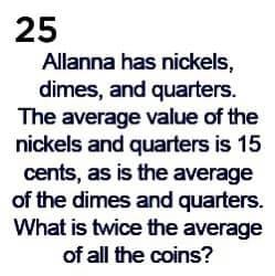 Math puzzles: Taken from the Mathematics 2021 calendar (#dailymaths), 25