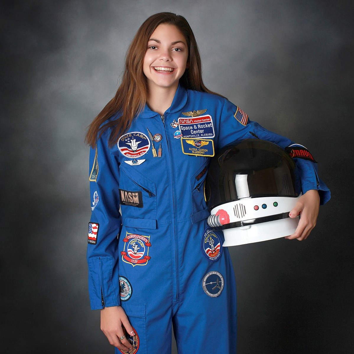 Alyssa Carson, the 19-year-old astronaut who became the youngest person in history to pass all NASA aerospace tests