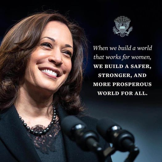 Meme: Building a world that's safe for women will benefit us all!