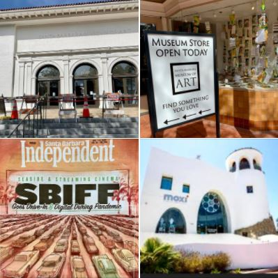 Today's walk on State Street: Museums and SBIFF