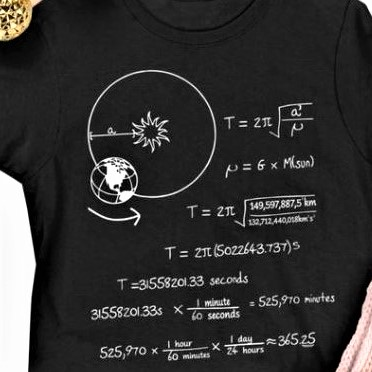 Calculating the length of a year, the time for one revolution of planet Earth around the Sun
