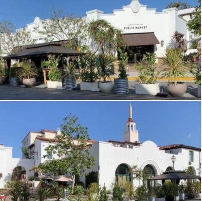 Side streets of downtown Santa Barbara: Santa Barbara Public Market