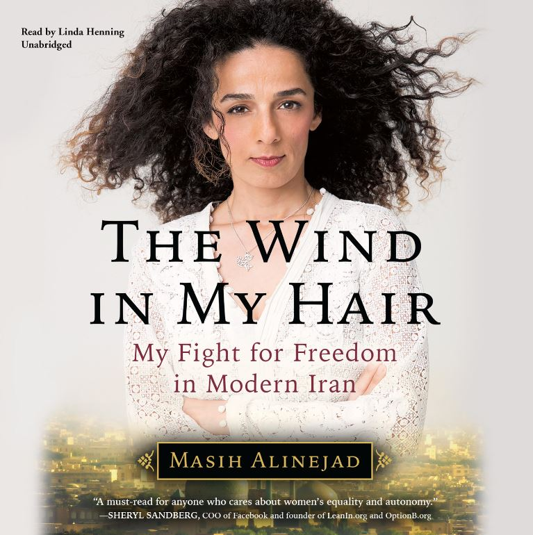 Cover image of Masih Alinejad's 'The Wind in My Hair'