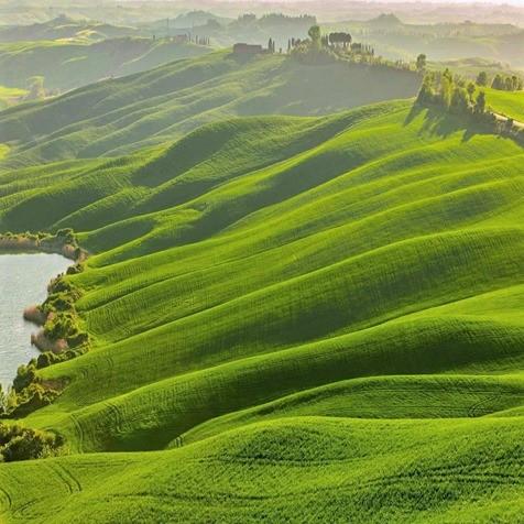 Definitely worth preserving: Beautiful green hills