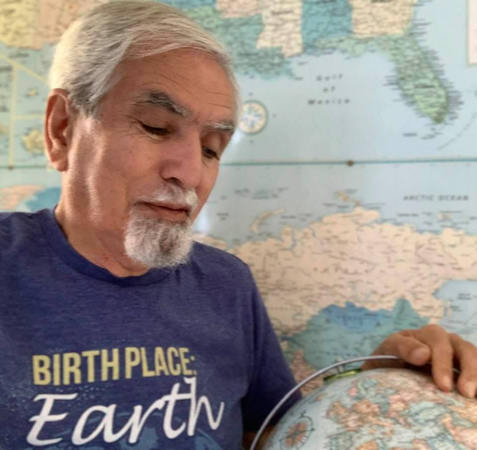 Earth Day's 51st edition: Me in my special T-shirt for the day (Photo 1)