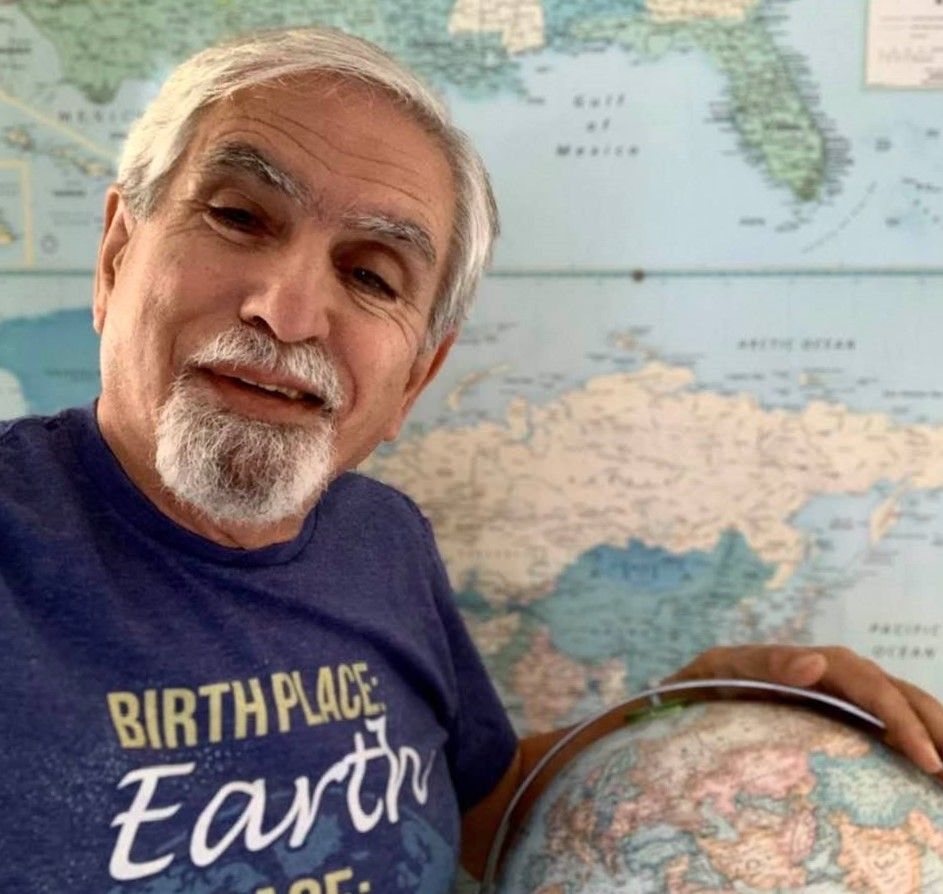 Earth Day's 51st edition: Me in my special T-shirt for the day (Photo 2)
