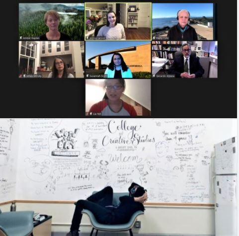 Roundtable discussion on women in science, UCSB College of Creative Studies