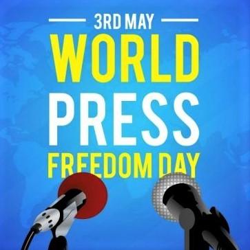 World Press Freedom Day: Logo