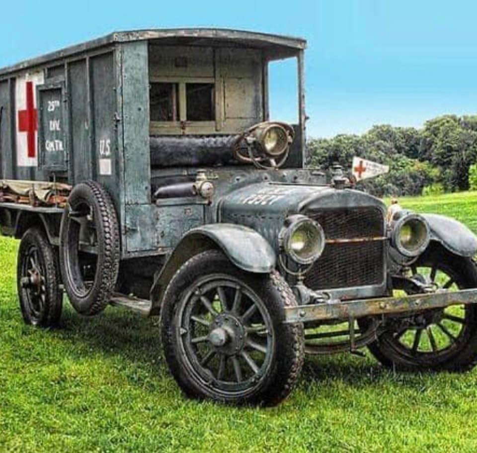 World War I ambulance (circa 1917)