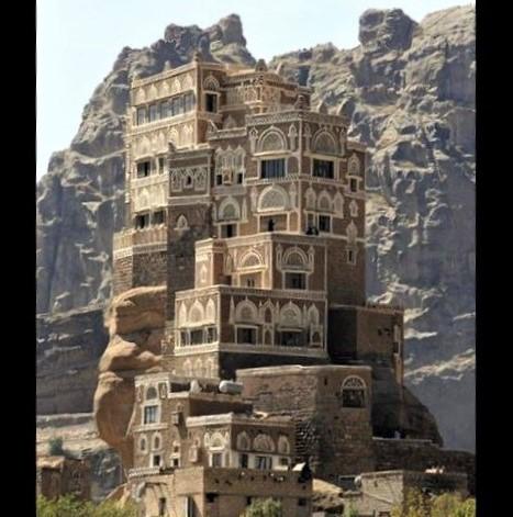 Marvels of the world: Dar Al Hajar, Yemen. Beauty amid a humanitarian crisis!