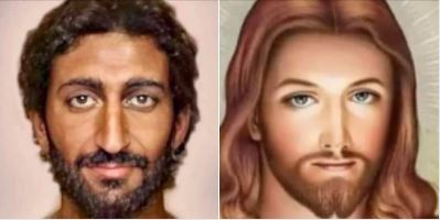 Racism exemplified: Taking the Middle-Easterner, dark-skinned Jesus and turning him into a white European