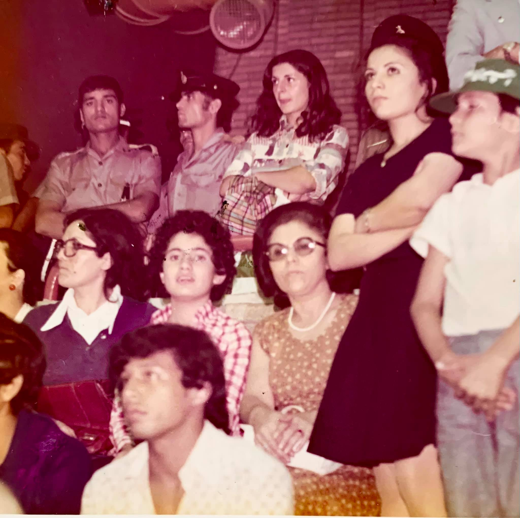 Throwback Thursday: With my family, at an event of the 1974 Asian Games in Tehran
