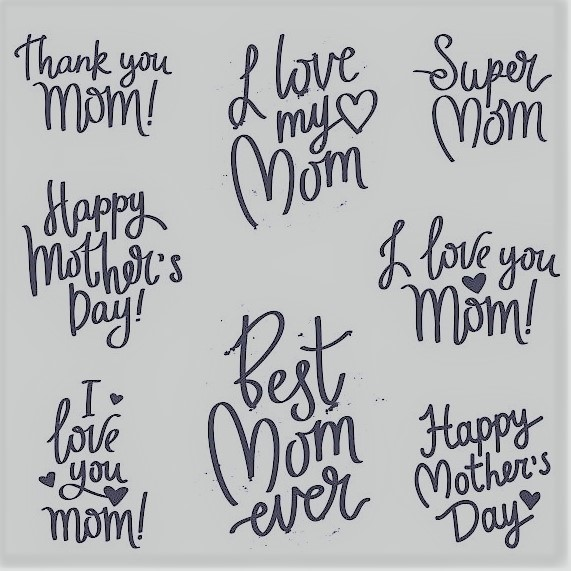 A few examples of the many messages of love going around today: Happy Mothers' Day!