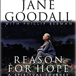 Cover image of Jane Goodall's 'Reasons for Hope'