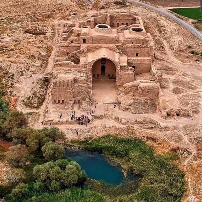 Ardeshir Papakan Palace: Located in the old town of Firuzabad, Iran, the palace of King Ardashir I