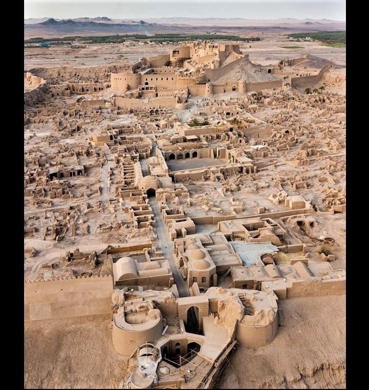 Iran's history: Arg-e Bam (Bam Citadel), located in the city of Bam, Kerman Province, southeastern Iran