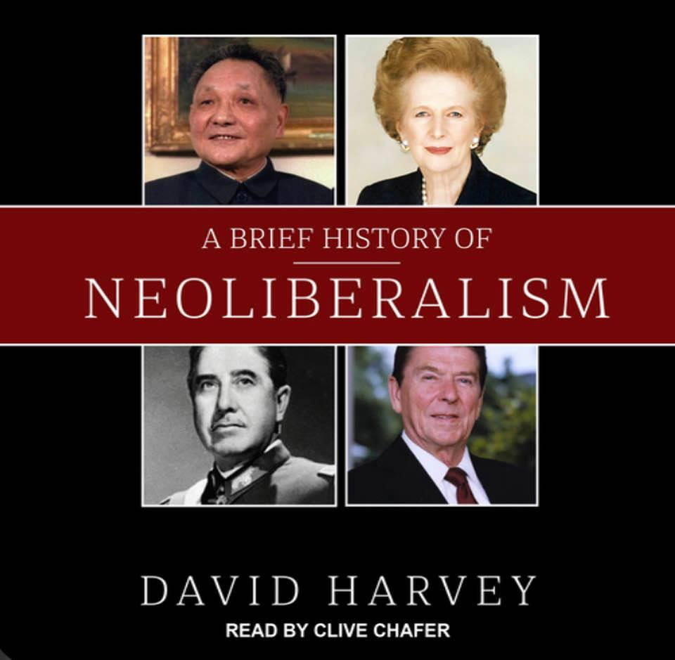 Cover image of David Harvey's 'A Brief History of Neoliberalism'