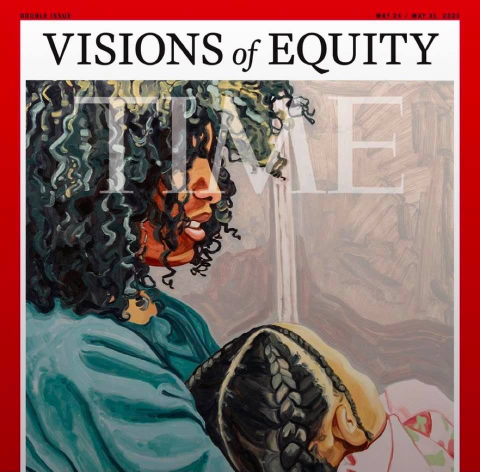 'Visions of Equity': Cover image of Time magazine's issue of May 24/31, 2021
