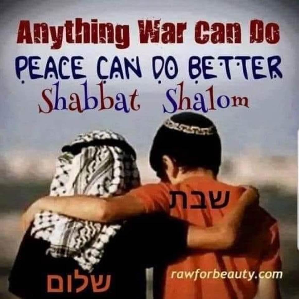 Meme: Anything war can do peace can do better