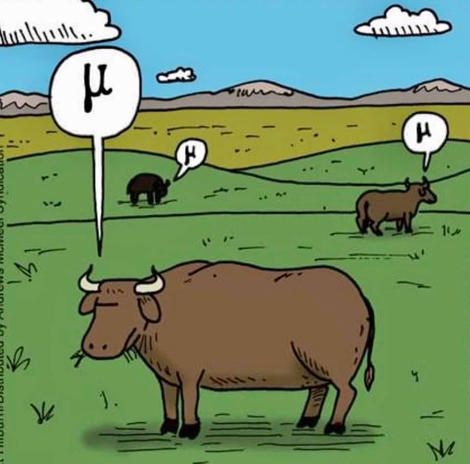 Cartoon: Cows in Greece say mu.