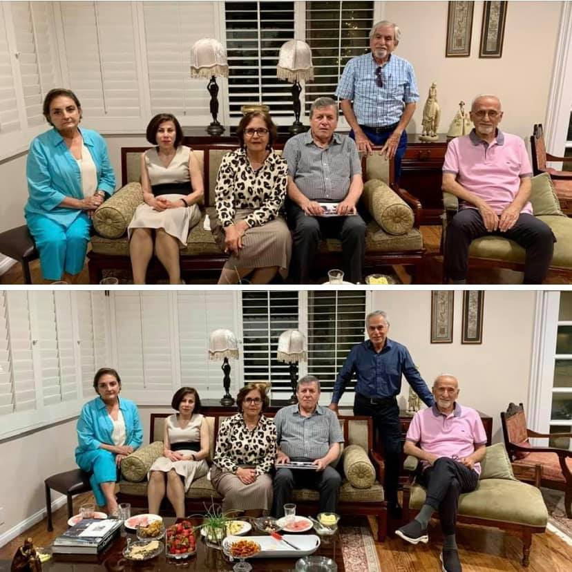 Last night's gathering with three college buddies and their spouses: Photos 3 & 4