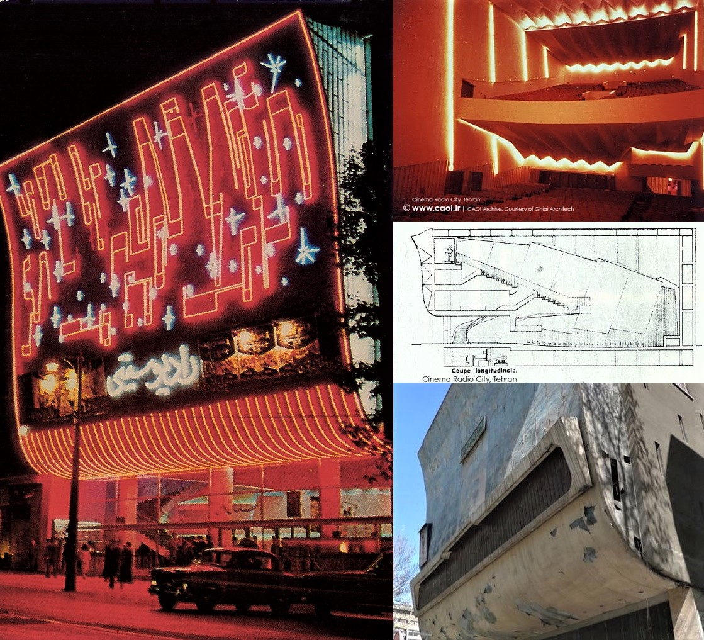 Tehran nostalgia: The 1400-seat Radio City Cinema built in 1958
