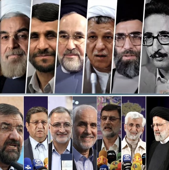 Iran's presidents and current presidential candidates