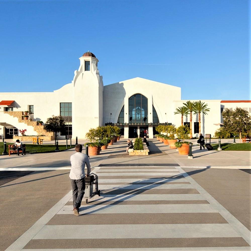 Santa Barbara Airport's terminal building