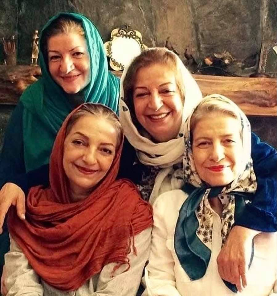 The Boroumand sisters of Iran: All four are artists (Marzieh, Ehteram, Razieh, Tahereh)