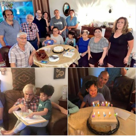 A few photos from Saturday's family gathering at my sister's