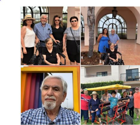 Miscellaneous photos from today's family gathering in Santa Barbara